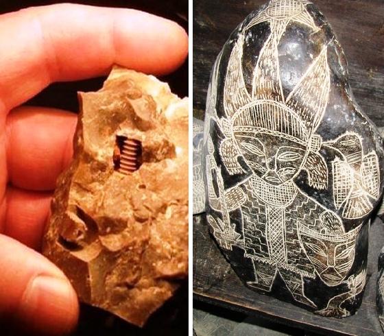 Древние артефакты, которые ставят в тупик ученых и просто любителей непознанного
