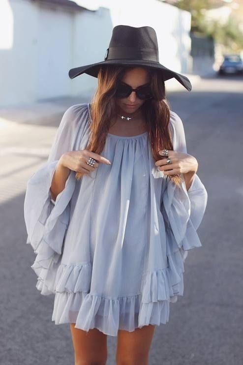 Платье-туника 2017: 30 стильных идей для жаркого лета