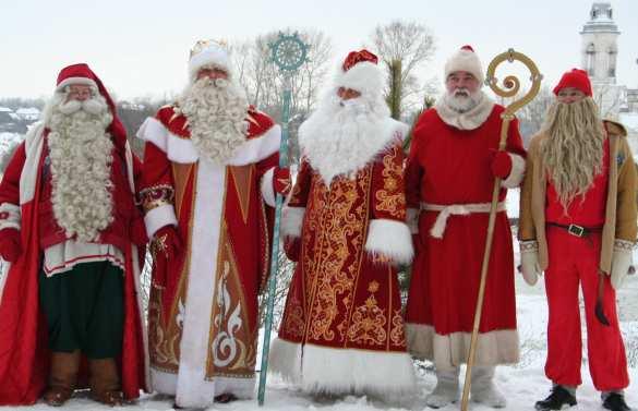 Не надо было запрещать Снегурочку: в Николаеве группа Дедов Морозов на Daewoo Lanos избила депутата горсовета