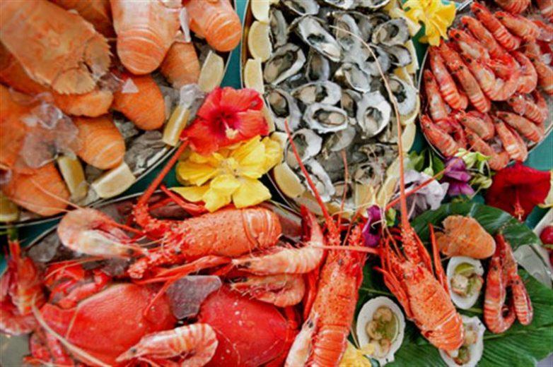 Морепродукты полезнее фруктов