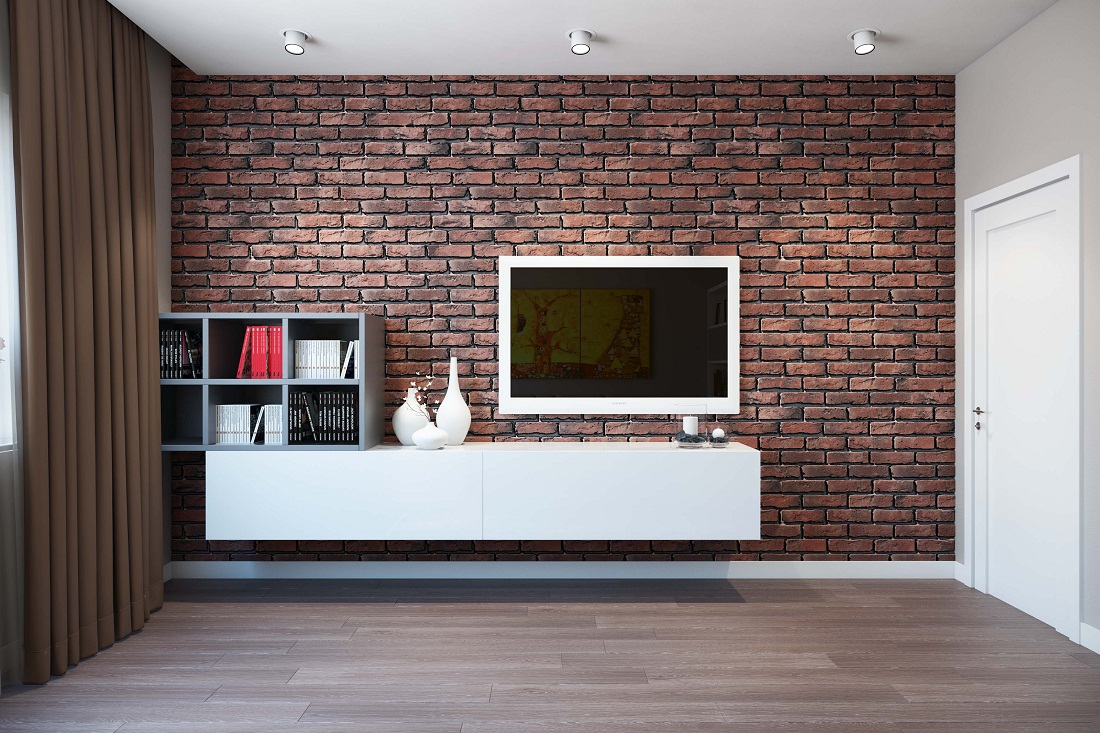 оформление стен в кухне гостиной кирпичом термобелья Данная категория