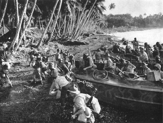 Новозеландцы против Японии. Освобождение Тихого океана