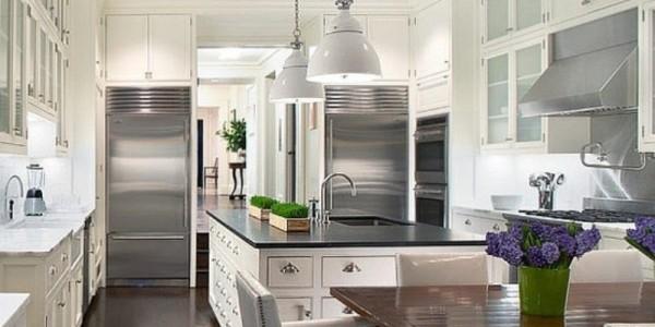Белые кухни-12