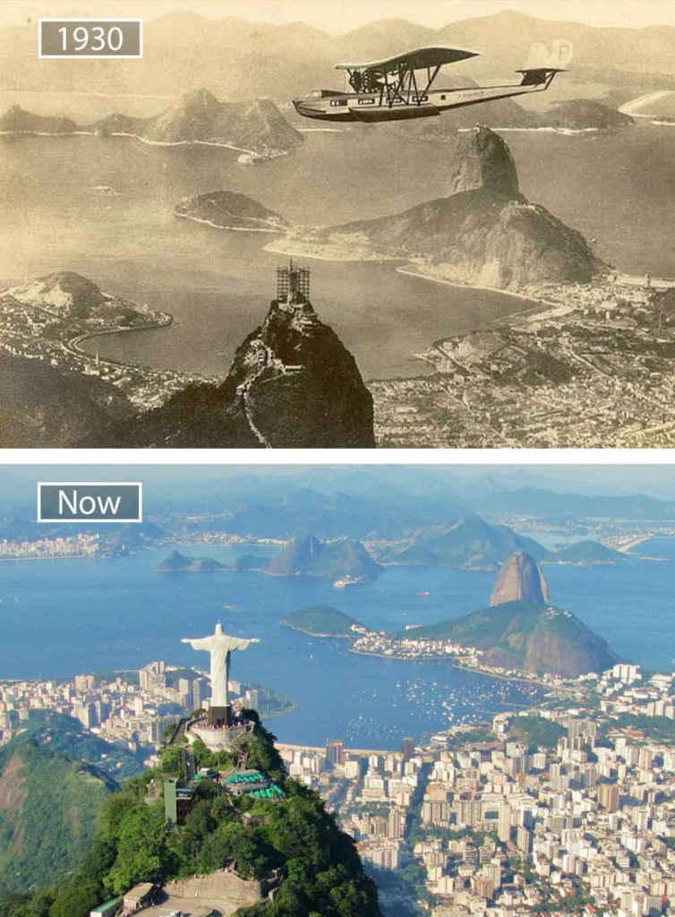 Мегаполисы - тогда и сейчас
