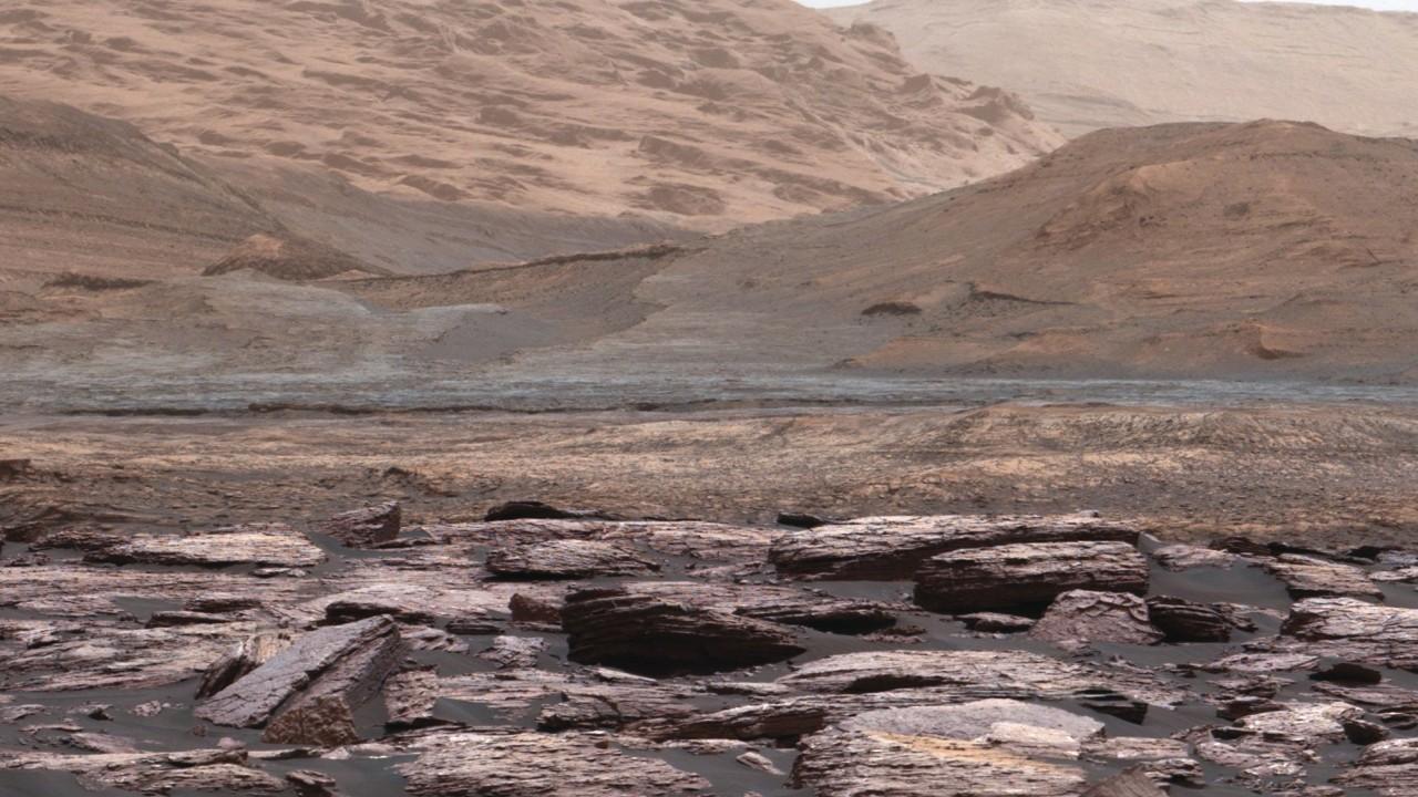 NASA показало 360-градусную панораму Марса