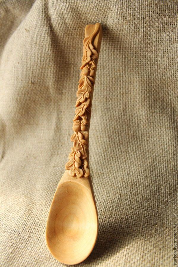 Вырезаем деревянную ложку своими руками
