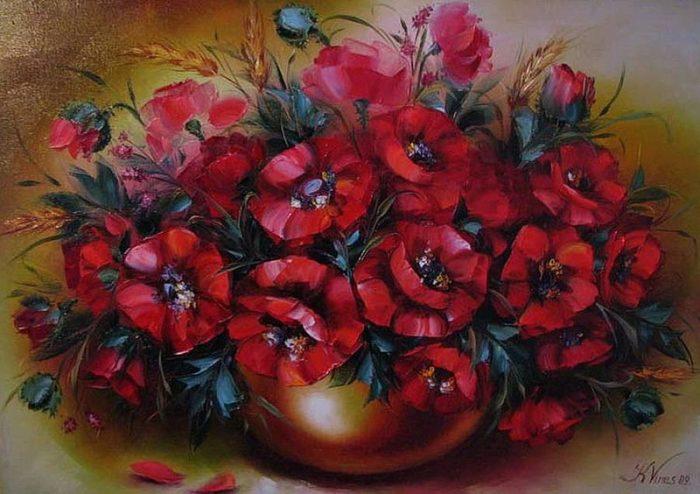 художник Екатерина Сенив картины – 18