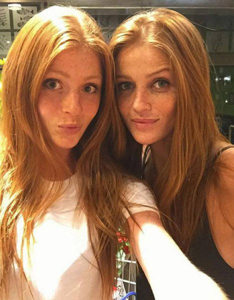 Рыжие и симпатичные девушки