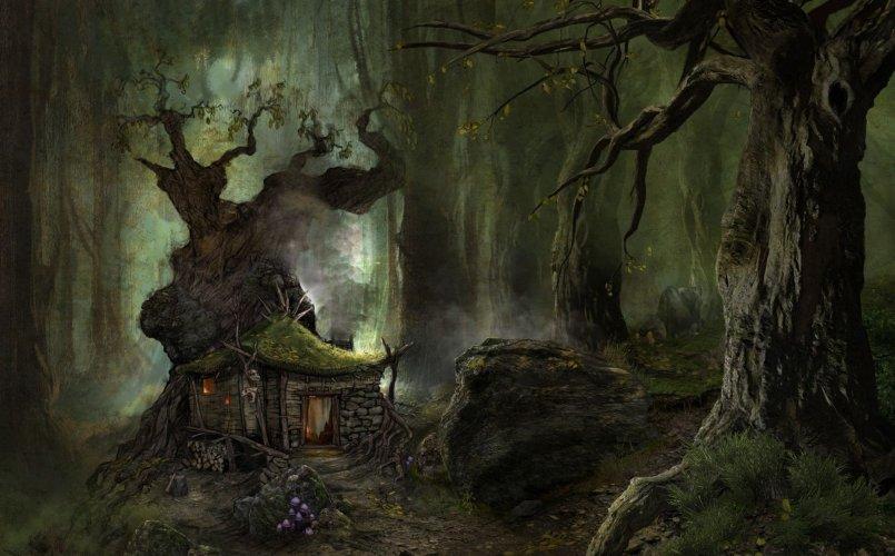 Истории на ночь: Байки старого лесника