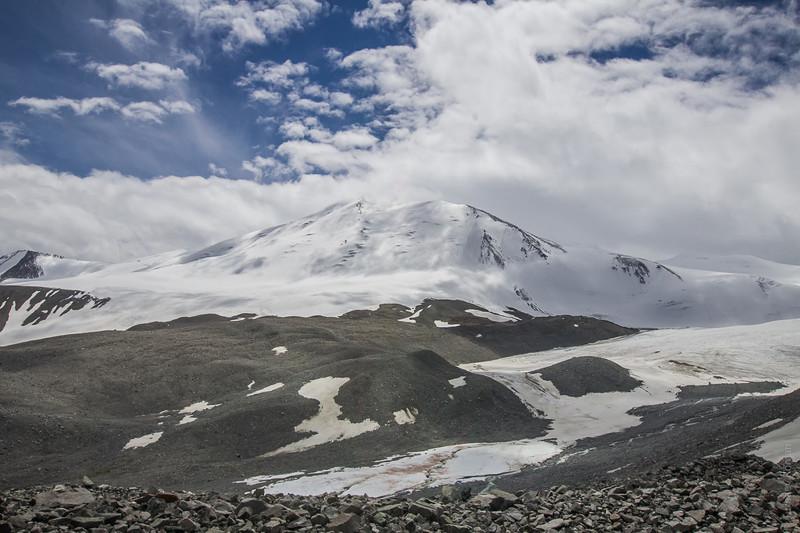 Таван-Богдо крупным планом алтай, путешествия, россия, укок, фото