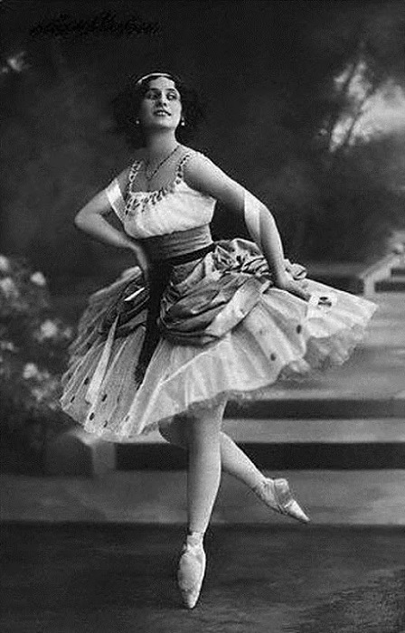 Анна Павлова - выдающаяся русская балерина.   Фото: lh6.ggpht.com.