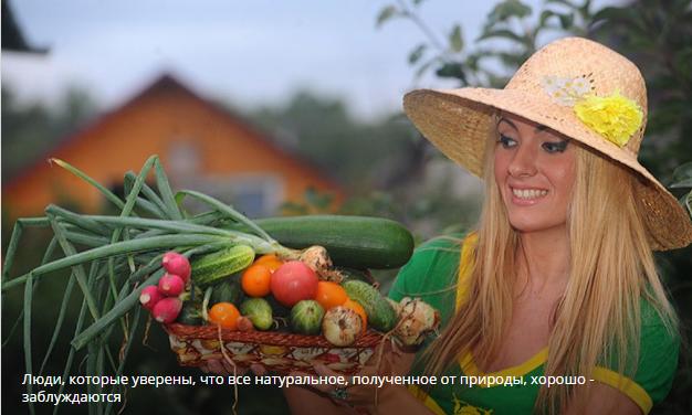 """""""Современная натуральная еда нередко опаснее продуктов с консервантами и красителями"""""""