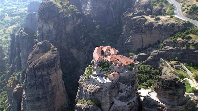 Удивительные монастыри Метеоры