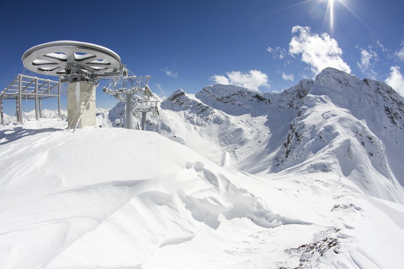 Красная Поляна, Сочи зима, курорт, лыжи, отдых