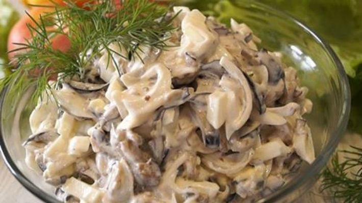 Шикарный салат из баклажанов (видео)