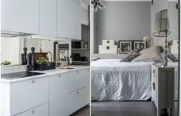 Идеи вашего дома: Как оформить квартиру площадью 35 квадратных метров: лаконичный и стильный интерьер, который понравится многим