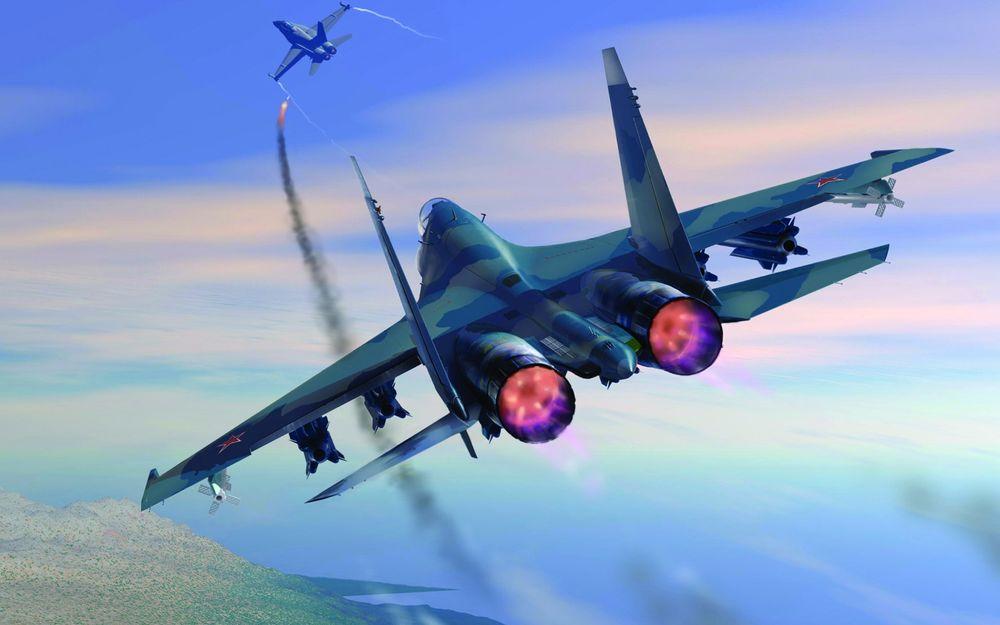 Пилот ВВС США обделался и убежал! Как российский пилот напугал американский истребитель F-16