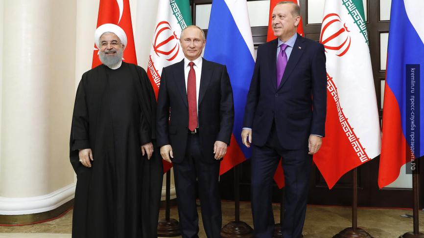 Президенты России, Турции и Ирана будут усиливать взаимодействие по борьбе с ИГ