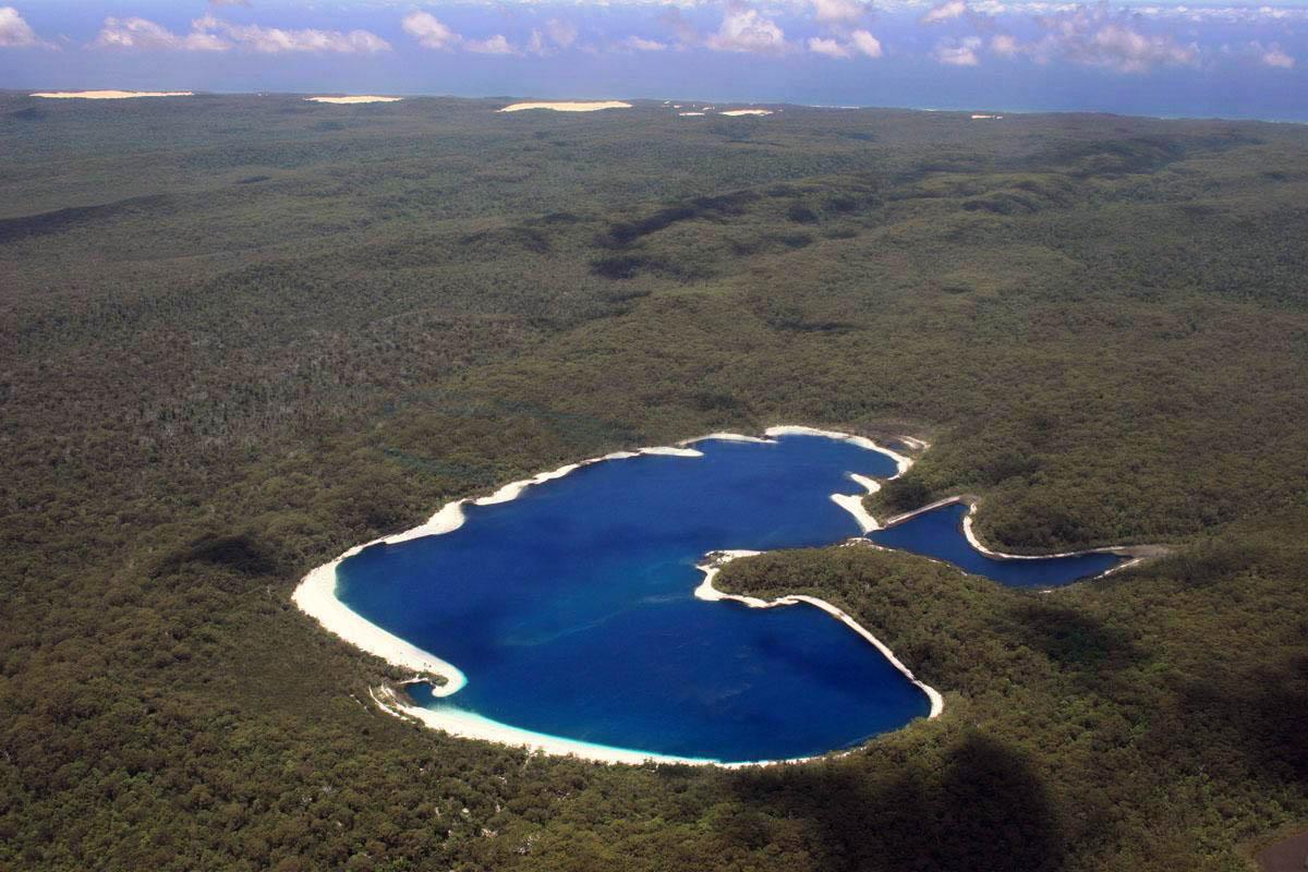 7. Озеро Маккензи. 9 уникальных озер