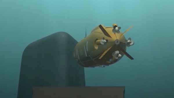 Российский подводный аппарат…