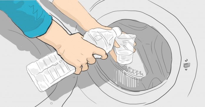 Как правильно добавлять уксус при стирке: пятна уйдут без особых усилий