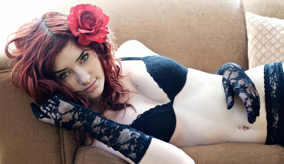 Сьюзан Коффи огненно-рыжая красотка