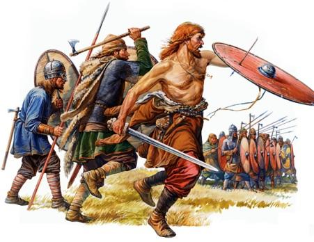 Воины эпохи Древней Руси  на рисунках-реконструкциях