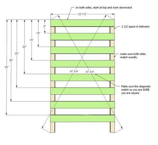 Интересная идея для сушки и хранения продуктов (схема)