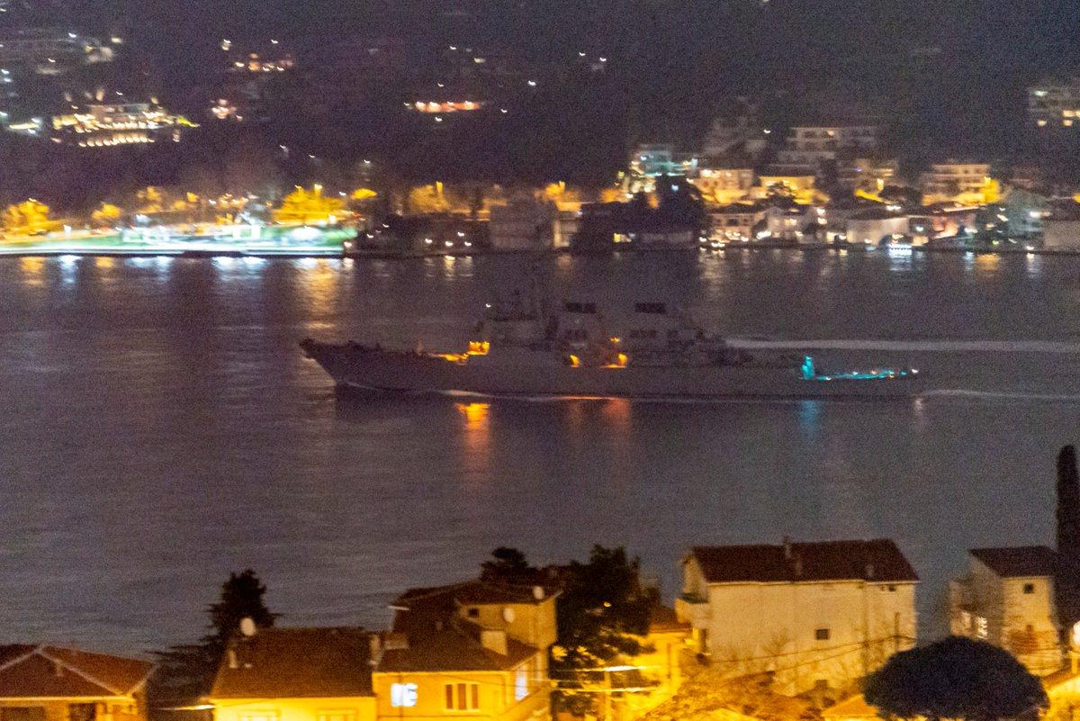 ЖАЖДА РЕВАНША: американский эсминец «Дональд Кук» вновь приближается к берегам Крыма