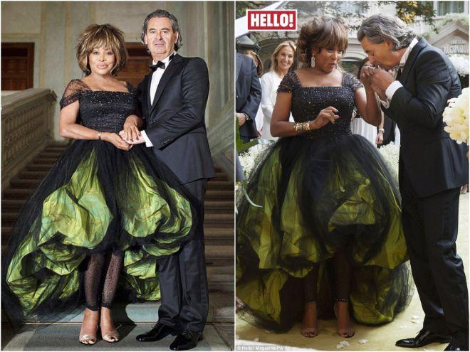 Взлом стереотипов: 9 звёздных невест, выбравших чёрное подвенечное платье!