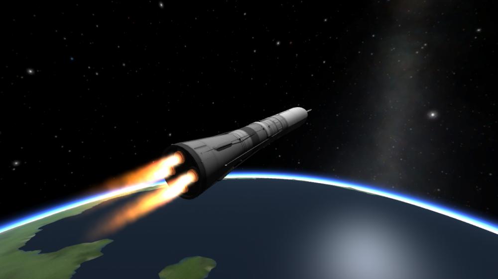 """РКК """"Энергия"""" предлагает два проекта сверхтяжелой ракеты для полетов на Луну"""