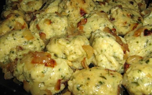 Для тех, кто не любит возиться с тестом: Ленивые вареники с картошкой