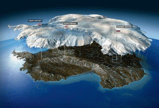 10 громких и таинственных экспедиций в Антарктиду