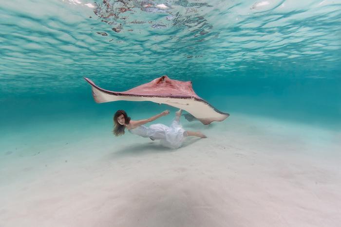 Гармония океана и человека в объективе Елены Калис.