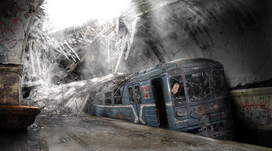 Московские тоннели под метро
