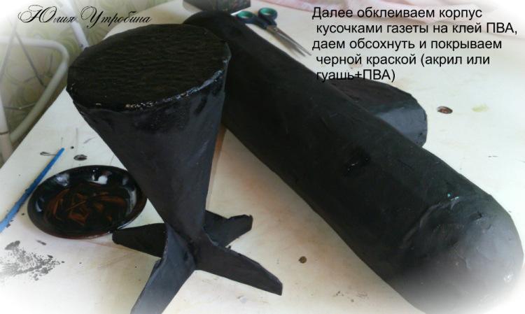 из чего сделан винт подводной лодки