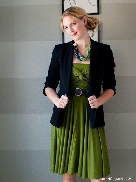 Универсальный наряд для женщины – платье-трансфомер