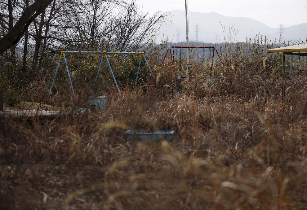 зона отчуждения АЭС Фукусима