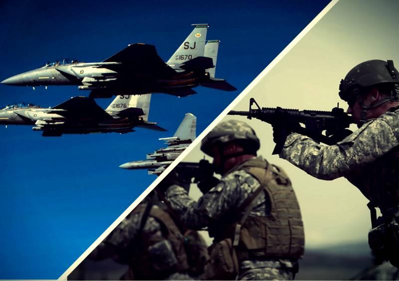 Коалиция во главе с США готовит гибридный удар по Сирии. «Зелёные береты» замечены у «Эль-Бабского плацдарма»