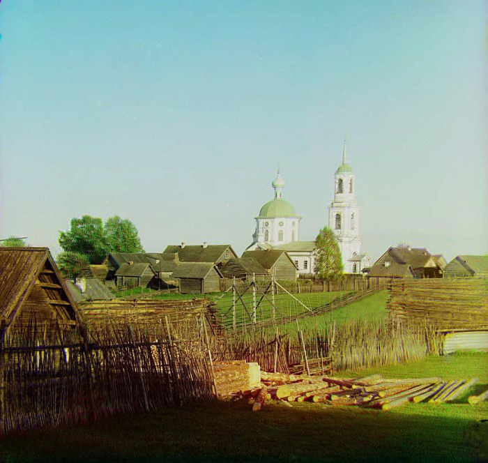Церковь апостола Петра и Павла в селе Первинка.