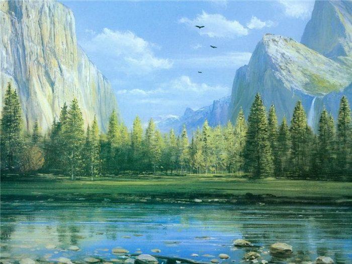 художник Peter Ellenshaw картины - 13