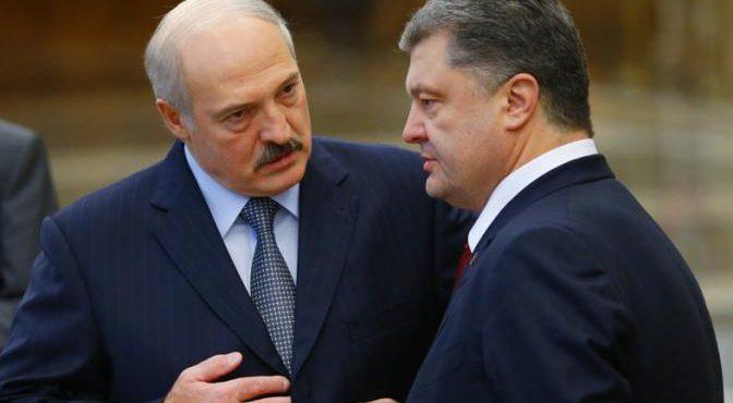 Порошенко и Лукашенко снова братья-славяне