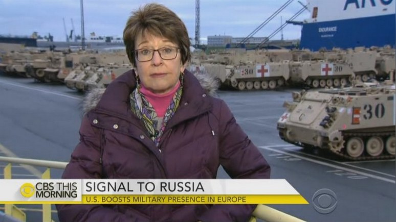 CBS News: американские танки сберегут нервы европейским союзникам