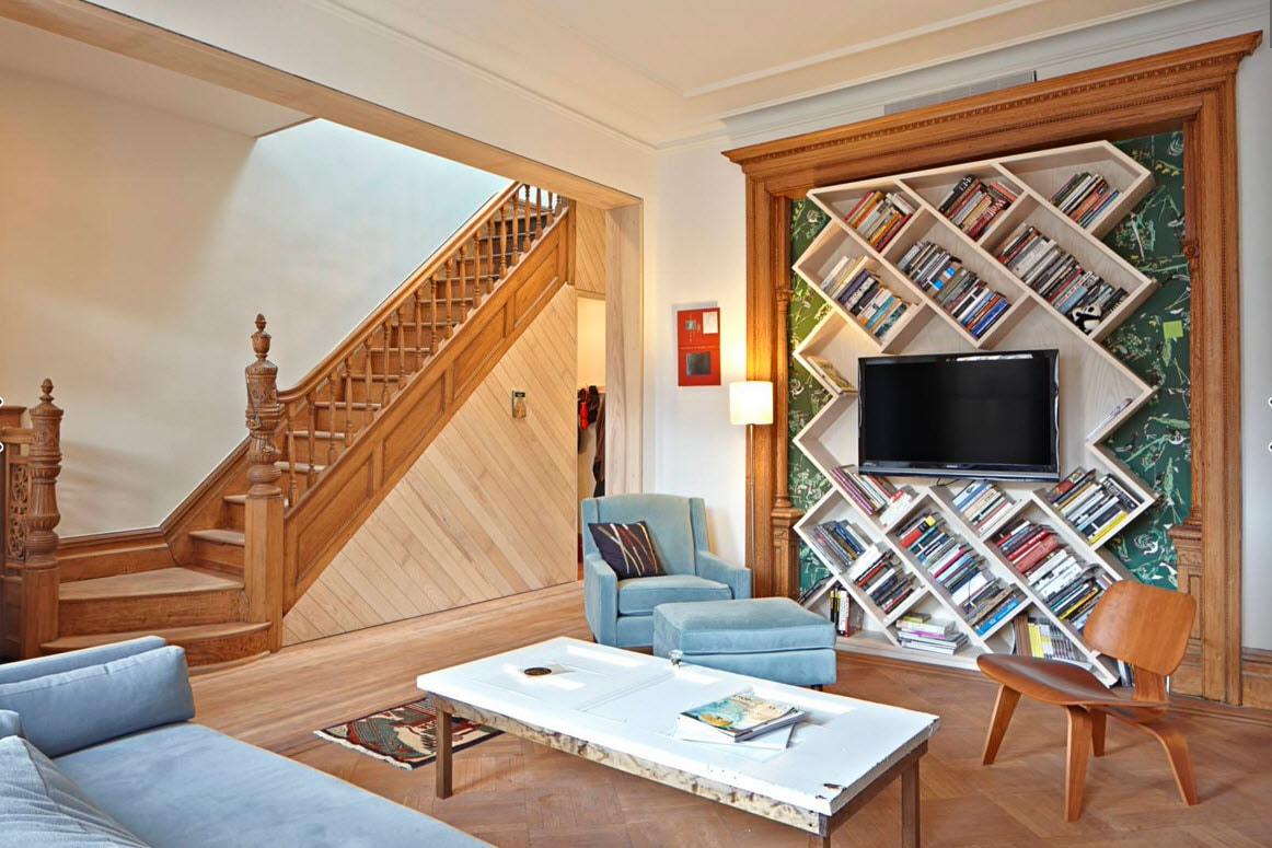 Дизайн оформления дома по углам