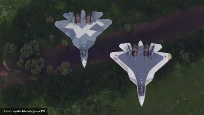 Небо подвластно сильным: Минобороны показало истребитель 5-го поколения Т-50