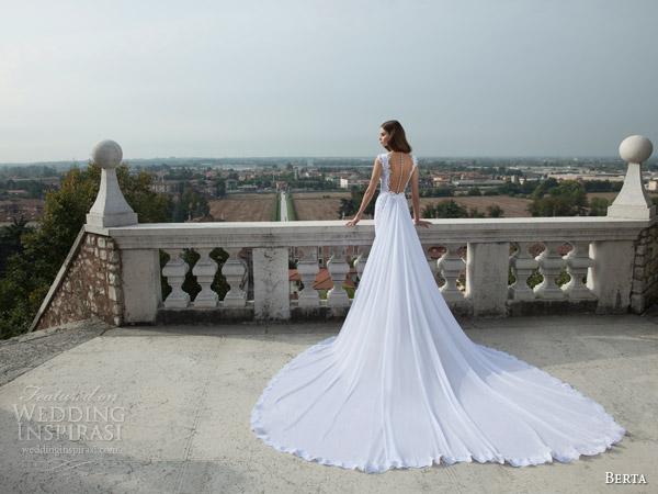 berta-bridal-winter-2014-cap-sleeve-lace-wedding-dress-train