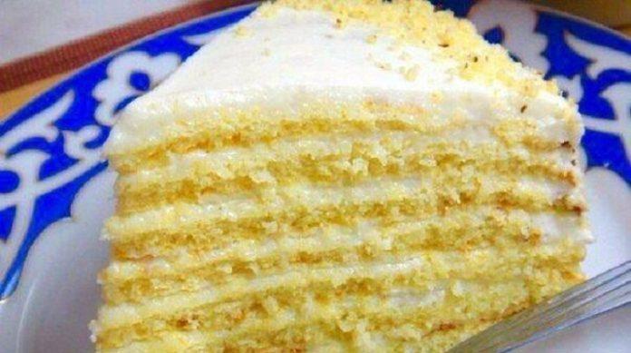 Необычайно вкусный торт — Молочная девочка