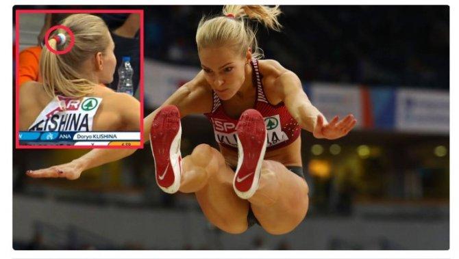 Легкоатлетка Клишина появилась на ЧЕ с резинкой для волос в цветах российского флага