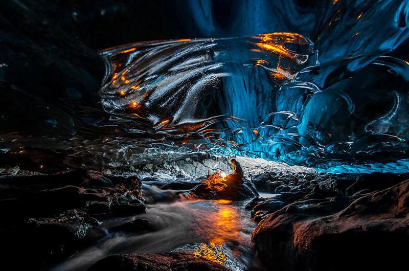 18. Ледяная пещера виды, исландия, красота, фото