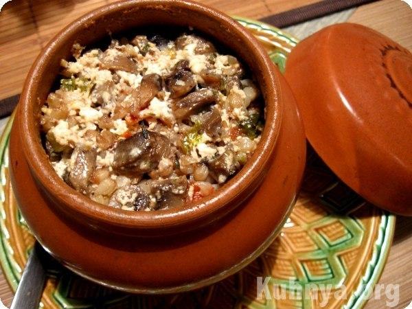 простые рецепты с грибами в духовке